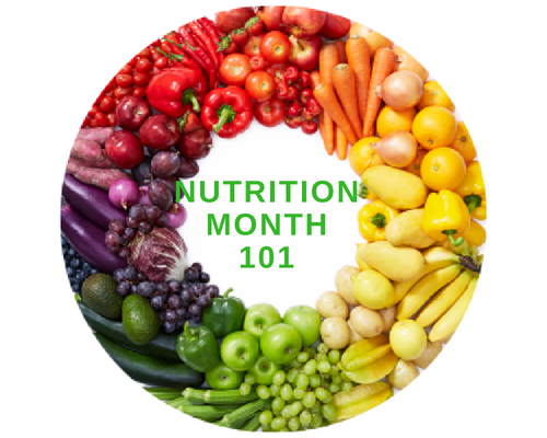 Nutrition Month 101