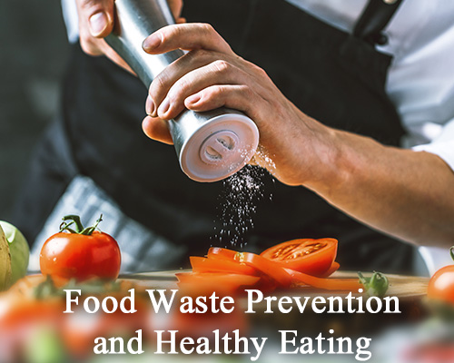 Food waste prevention and healthy eating activities