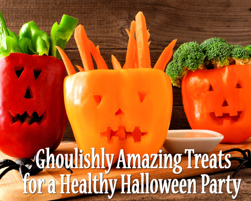 Ghoulishly Amazing Treats for a Healthy Halloween Party