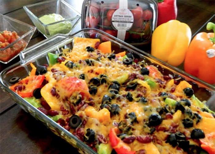 bell pepper nachos
