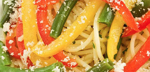 Sweet Bell Pepper Pasta
